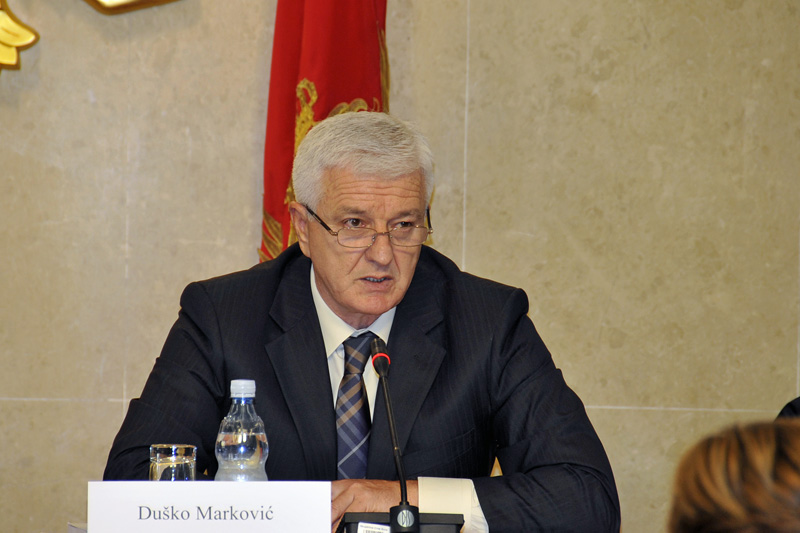 Vice Prime Minister and Minister of Justice of the Republic of Montenegro, Duško Marković