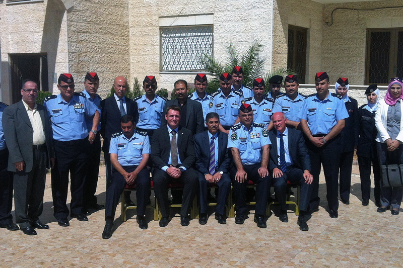 Speakers and participants of the workshop in Amman