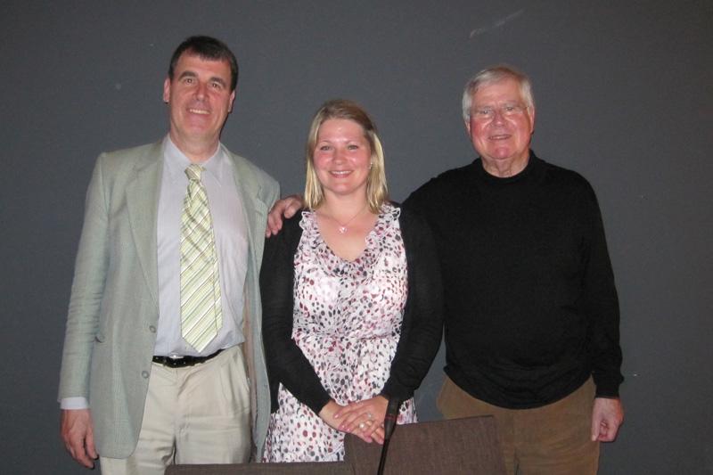 Dr. Matthias Hartwig, MPI Heidelberg; Elke Wendland, IRZ; Prof. Dr. Ulrich Karpen, Universität Hamburg (v.l.n.r.)