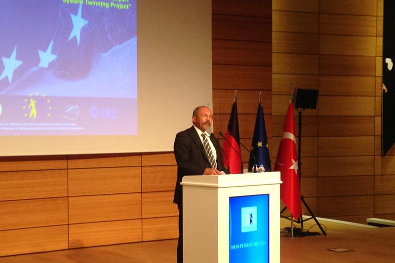 Hans-Peter Schmieszek, Twinning-Langzeitberater (RTA)