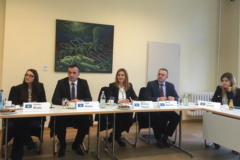 Während des Fachgesprächs bei der Deutschen Richterakademie in Wustrau