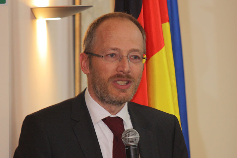 Dr Oliver Schön, a judge at the Regional Court of Munich