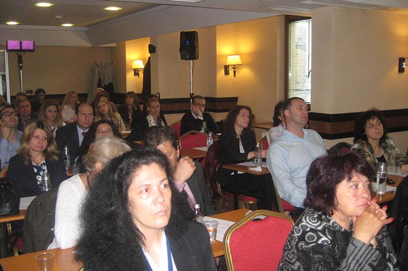Participants in the seminar in Sofia