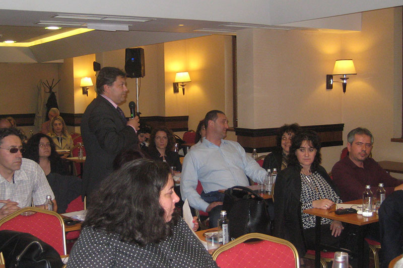 Discussions during the seminar in Sofia