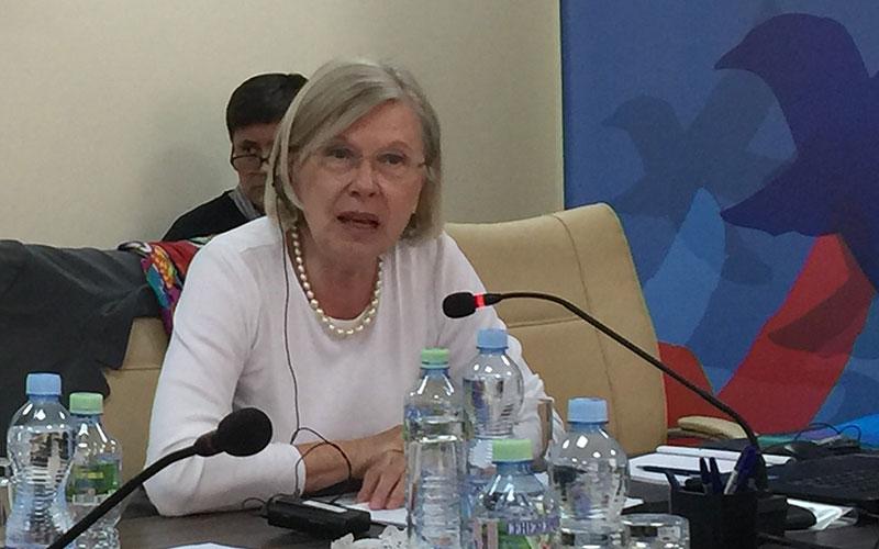 Vortrag von Gudrun Grieser, Oerbürgermeisterin a.D.  der Stadt Schweinfurt