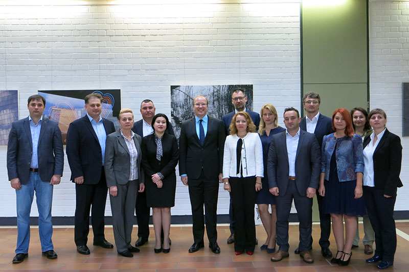 Visit to the German Judicial Academy in Trier