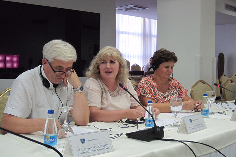 During the seminar