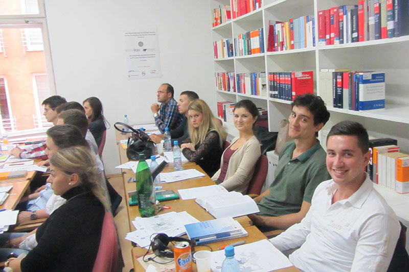 Workshop in a relaxed atmosphere