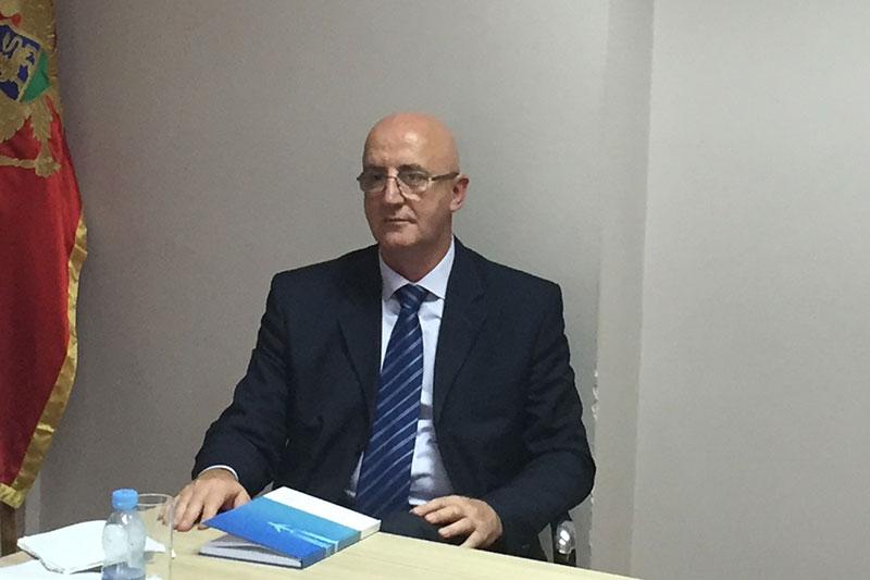 Veselin Mazić, Generalsekretär der montenegrinischen Schwerpunktstaatsanwaltschaft