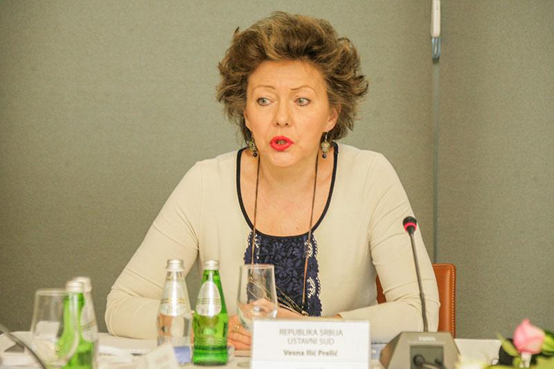Vesna Ilić Prelić, President of the Constitutional Court of Serbia
