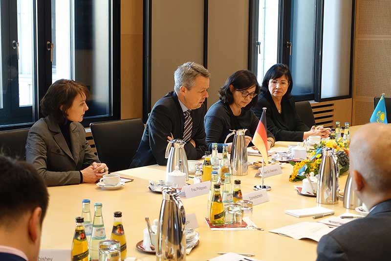 Discussions with head of department Dr Georg Kleemann, Deputy Secretary General of the Bundesrat