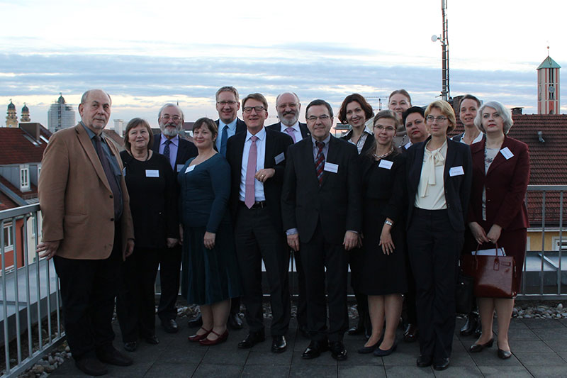 Participants in the German-Russian workshop
