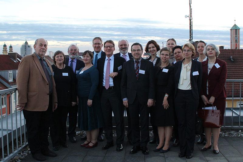 Teilnehmerinnen und Teilnehmer des deutsch-russischen Workshops