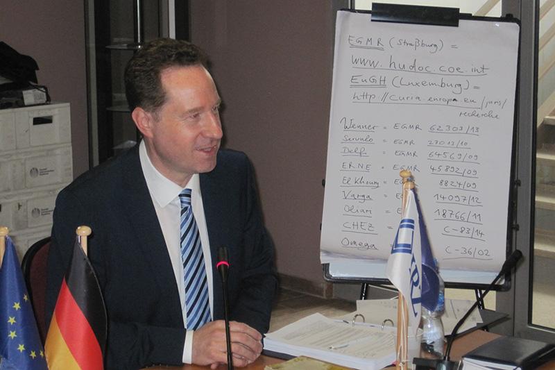Speaker Professor Dr. Jan Bergmann