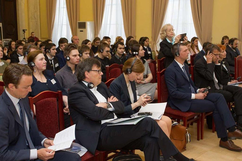 Participants in the conference