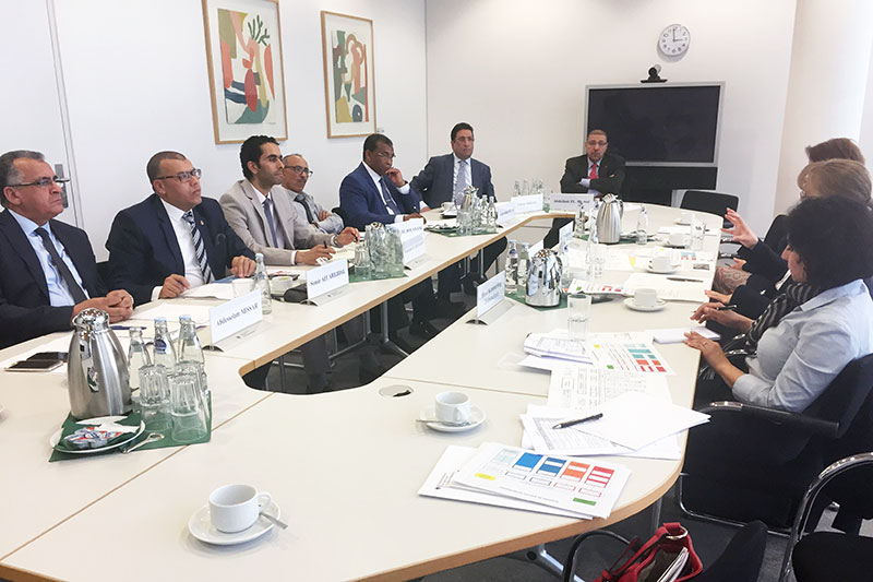 Expert discussions with the Moroccan delegation at the BMJV