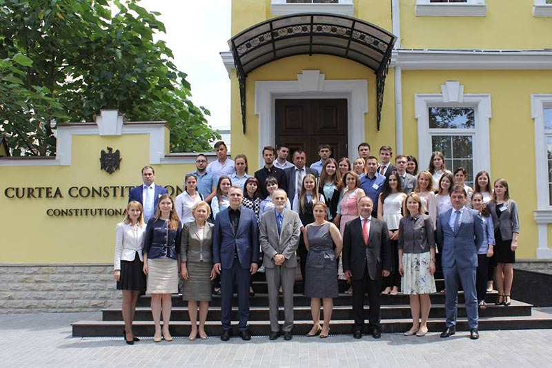 Participants in the Summer School in Moldova
