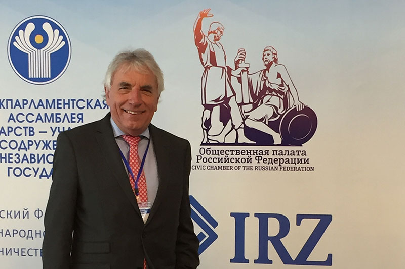 The IRZ expert, Jürgen Roters, a lawyer and former mayor of the city of Cologne