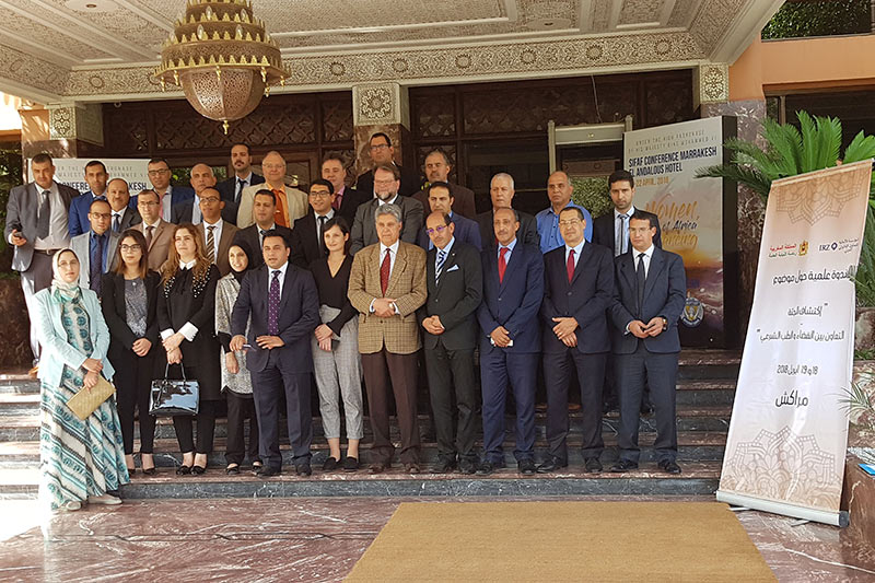 Participants in the conference in Marrakesh