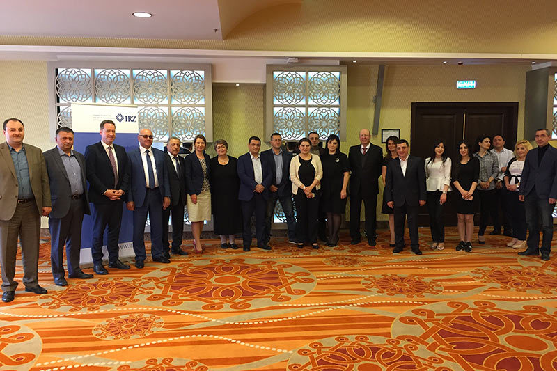 Participants in the criminal law colloquium in Tsaghkadzor, Armenia