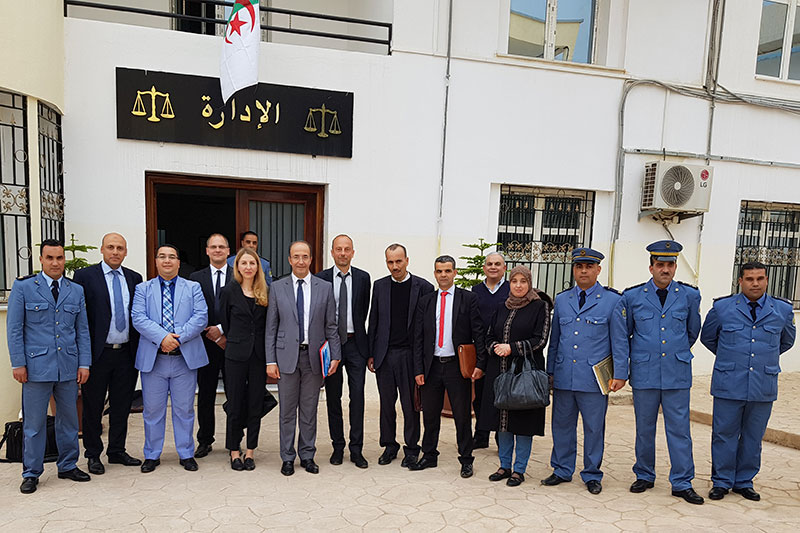 Visit to the JVA for reintegration in Blida