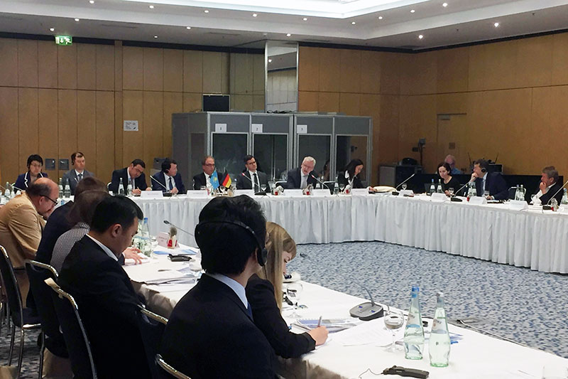 "Participants in the Round Table on ""20 Years of Anti-Corruption Legislation and the Agency for Civil Service in the Republic of Kazakhstan"""