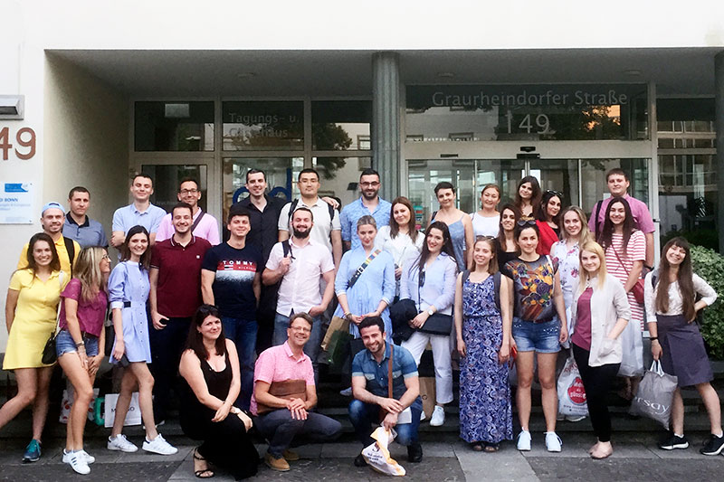 Participants in the eighth IRZ Summer School on German Law