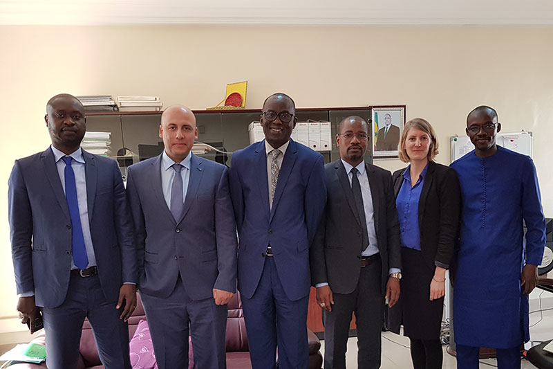Meeting at the Ministry of Justice of Senegal