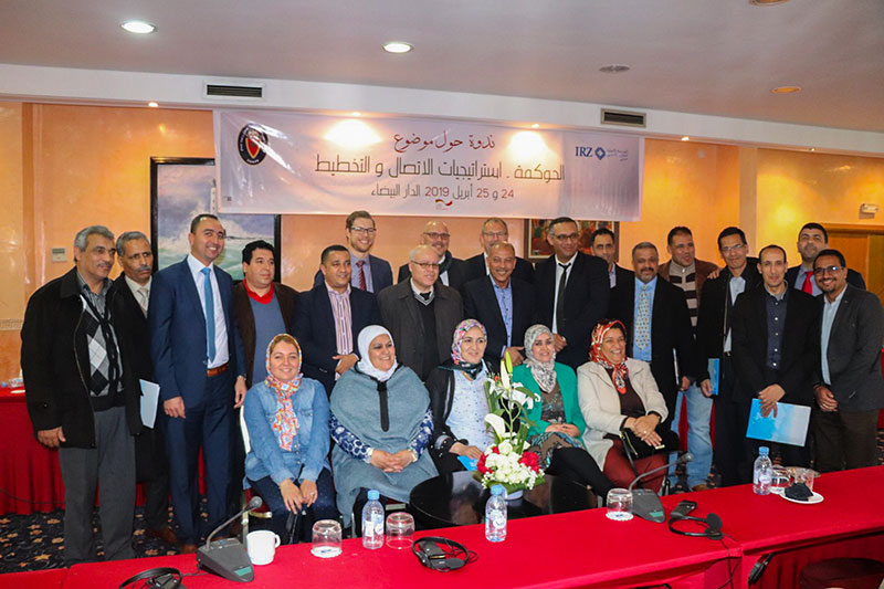 Participants and speakers at the seminar in Casablanca