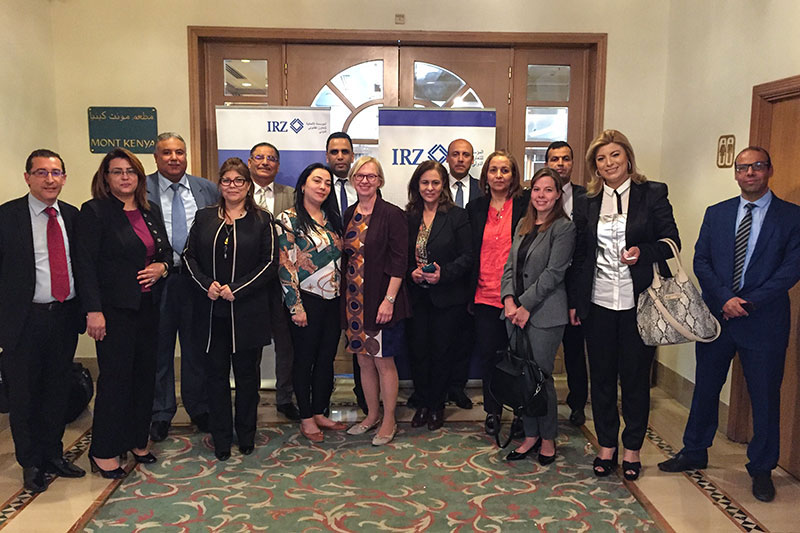 Participants in the exchange of experiences on the Hague Convention  on the Civil Aspects of International Child Abduction in Tunis