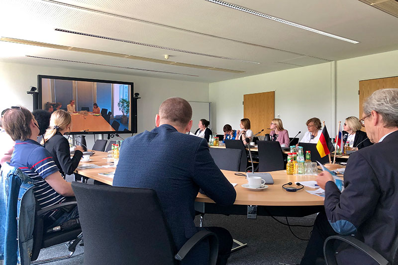 During the expert talks at the Ministry of Health in Bonn