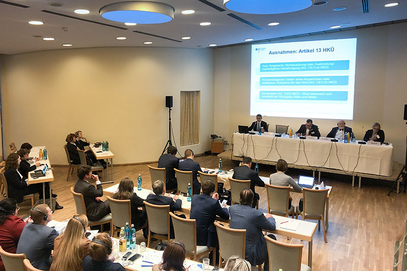 During the 5th German-Russian legal forum in Hamburg