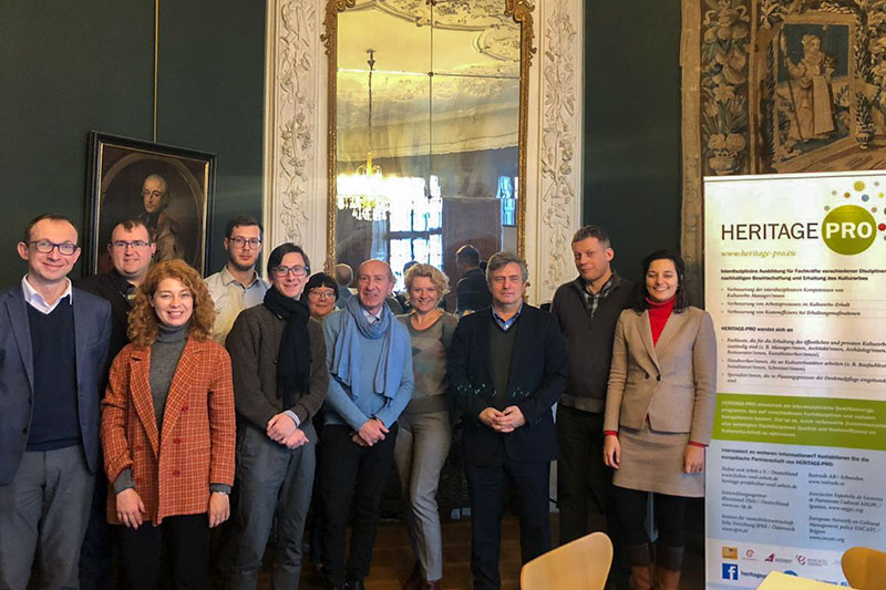 The Russian delegation at the HERITAGE-PRO initiative in Mainz