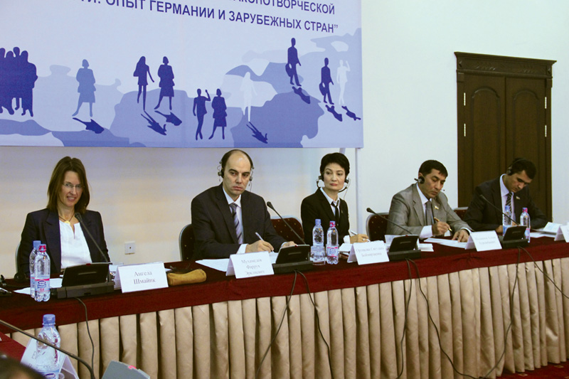 Conference on social legislation in Tashkent