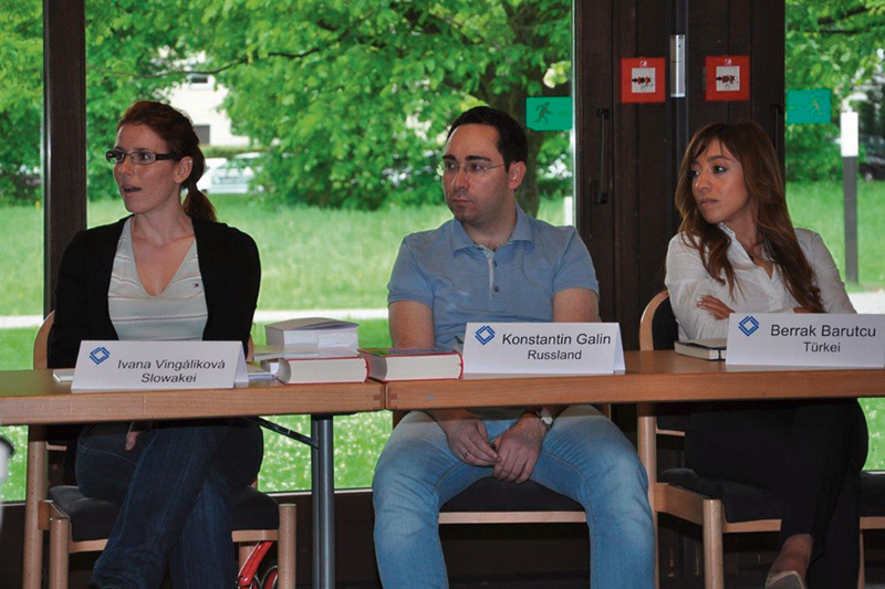 Introductory seminar for the participants of the internship programme for lawyers in Bonn