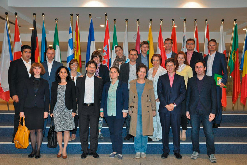 In the European Parliament in Brussels