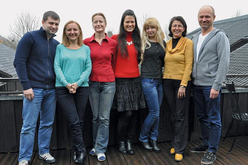 Teilnehmer/innen in der Andreas Hermes Akademie