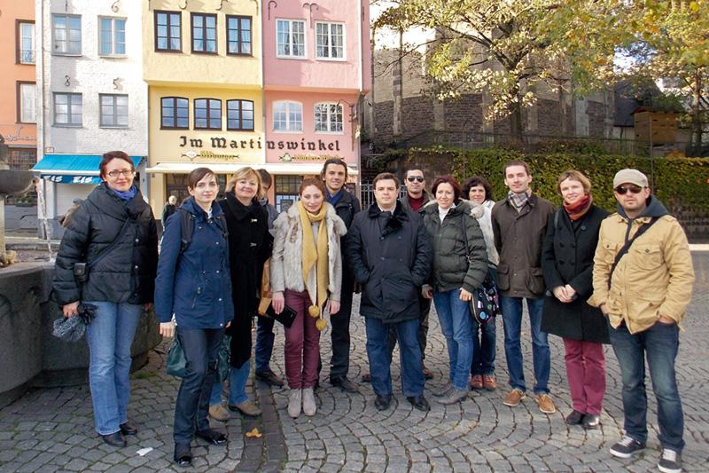 Internship programme for civil and commercial court judges: Visit to Cologne