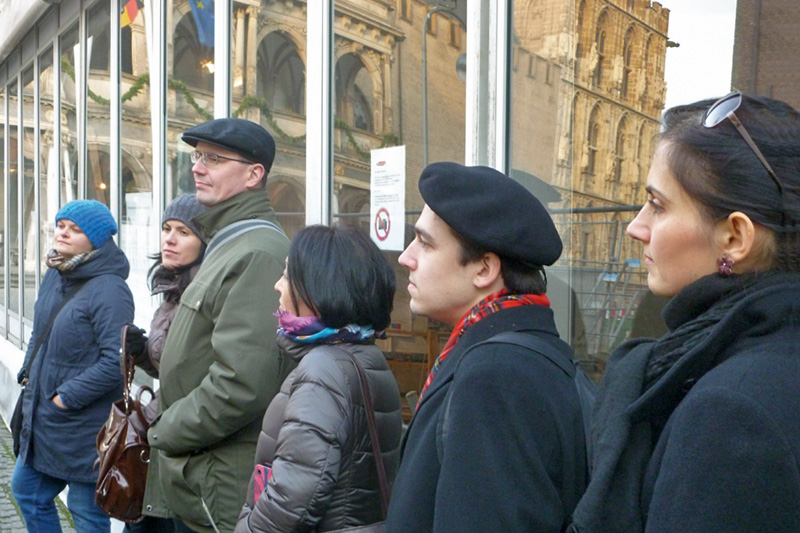 Internship programme for administrative court judges: Guided tour of Cologne
