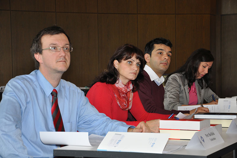 Participants of the internship programme for criminal court judges and public prosecutors