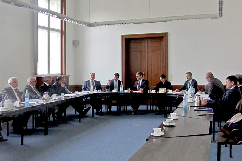 Delegation of the General Prosecutor's Office at the Court of Cassation of the Republic of Turkey on a visit to the Berlin General Prosecutor's Office on the topic of cybercrime