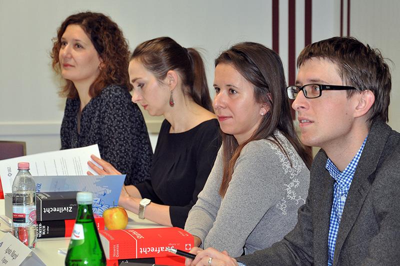 Participants at the internship programme for judges and public prosecutors