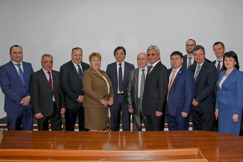 Representatives of the National Judges' Associations at the Conference of Judges' Associations in Moldova