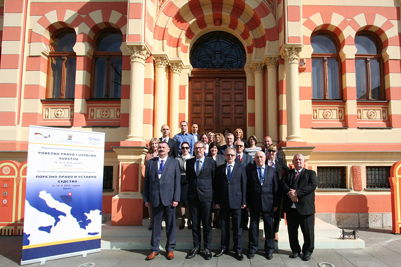 "Participants at the regional conference by the constitutional court on the topic of ""Tax law in constitutional case-law"" in Brčko"