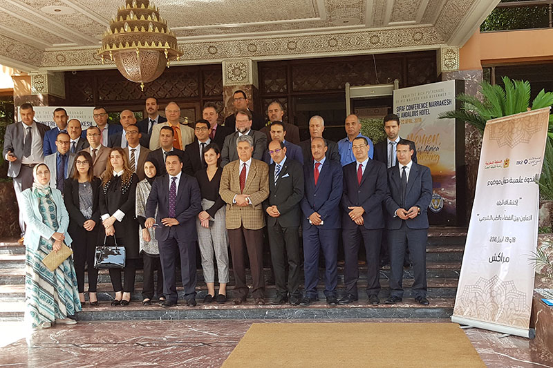 "Participants at the seminar ""Corpse discovery – interaction between the judiciary and forensic medicine"" in Marrakesh"