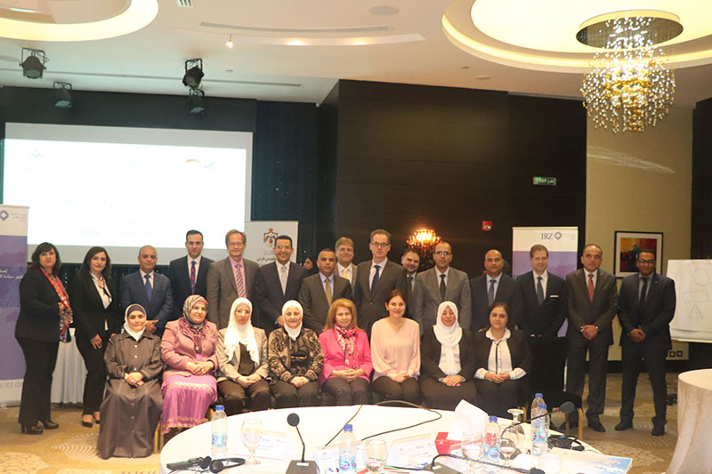 "Participants of the seminar ""Train the trainer: Teaching methodical-didactic knowledge"" in Amman"