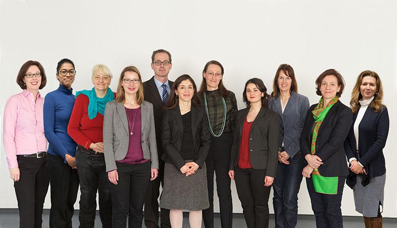 Team EU Technical Assistance und EU Grants der IRZ
